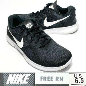 Nike Free RN Flyknit Womens US 6.5 EU 37.5 Running